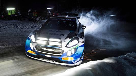 Campeonato del Mundo. Rally del Ártico. Resumen 2ª Etapa