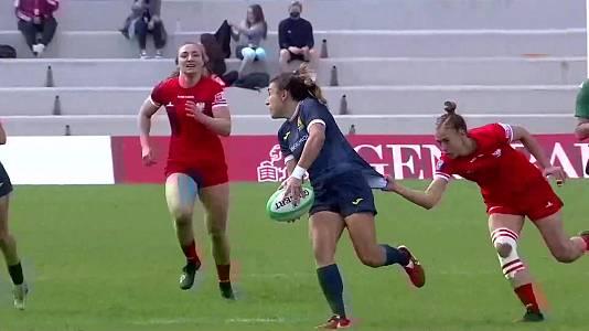 Torneo int. Sevens (femenino): España - Polonia
