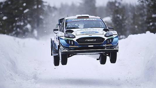 Campeonato del Mundo. Rally del Ártico. Resumen 3ª Etapa