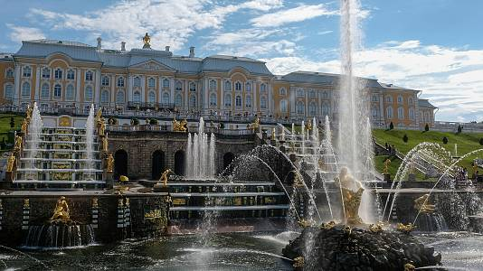 San Petersburgo, noches blancas