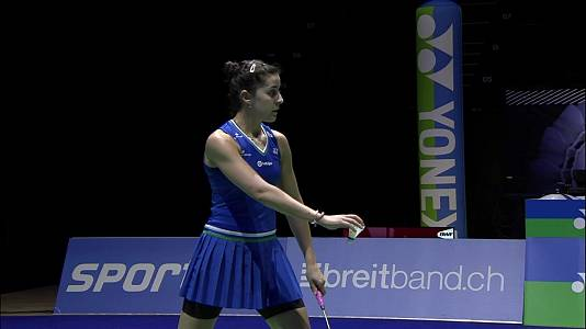 Yonex Swiss Open Final individual Femenina: Marín - Pusarla
