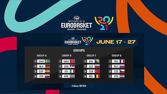 Sorteo Campeonato de Europa Femenino 2021