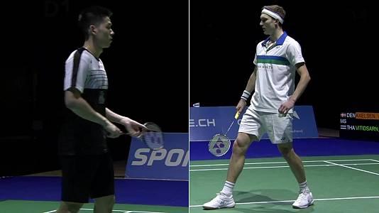 Yonex Swiss Open Final ind. Masculina: Axelsen - Vitidsarn
