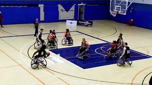 Baloncesto en silla de ruedas - Liga BSR División honor. Resumen jornada 15