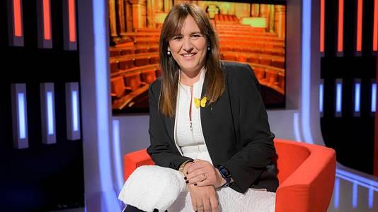 Laura Borràs, presidenta del Parlament de Catalunya