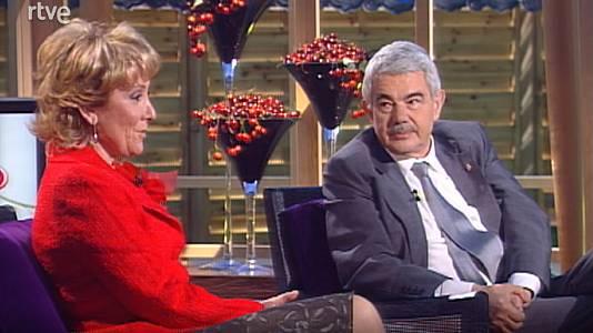 Esperanza Aguirre y Pasqual Maragall