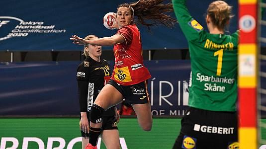 Preolímpico femenino: España - Suecia