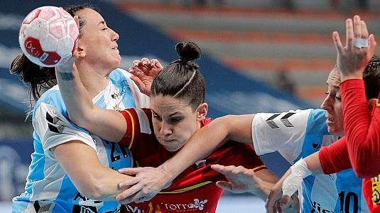 Preolímpico femenino: Argentina - España
