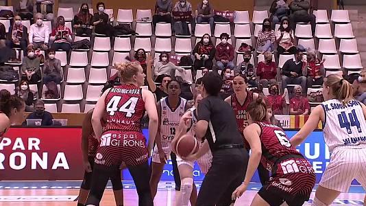 Liga femen.Endesa. 30ª jornada: Spar Girona-Perfumerías Av