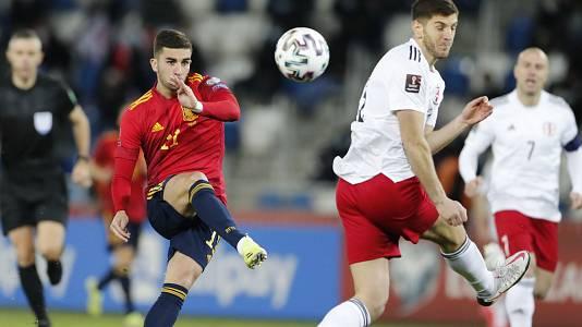 Clasificación Mundial 2022. Partido Georgia - España