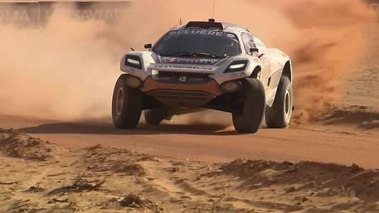 """Extreme E """"Desert X-Prix"""". Clasificación 1 y 2"""