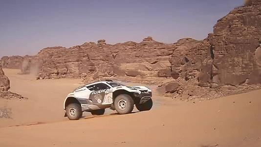 """Extreme E """"Desert X-Prix"""". Clasificación 3 y 4"""