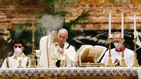 Misa de Resurrección. Bendición Urbi et Orbi, desde Roma