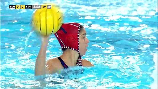 Copa de la Reina, 1ª semifinal: CN Mataró - CE Mediterrani