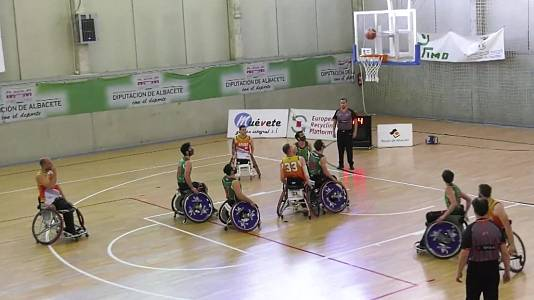 Baloncesto en silla de ruedas - Liga BSR División honor. Resumen jornada 18