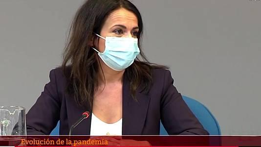 Especial informativo - Coronavirus. Comparecencia de Silvia Calzón, secretaria de Estado de Sanidad - 15/04/21