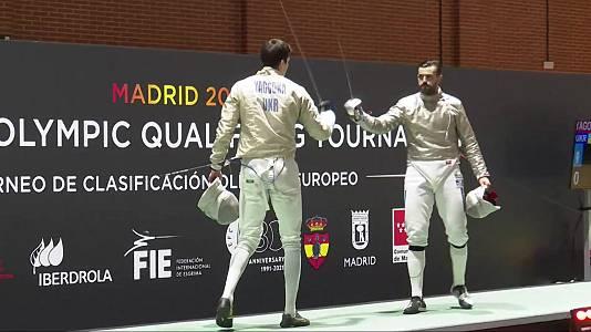 Torneo preolímpico. Final sable masculino