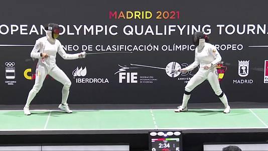 Torneo preolímpico. Final espada femenina