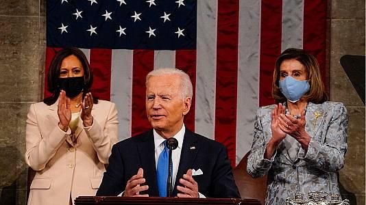 Discurso de la nación en EEUU del presidente Joe Biden