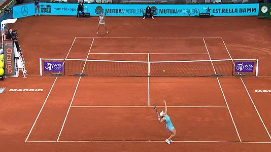 WTA Mutua Madrid Open: Ashleigh Barty - Shelby Rogers
