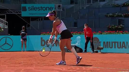 WTA Mutua Madrid Open: Danka Kovinic - Sloane Stephens