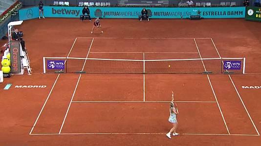 WTA Mutua Madrid Open: V. Jiménez Katsintseva - K. Bertens