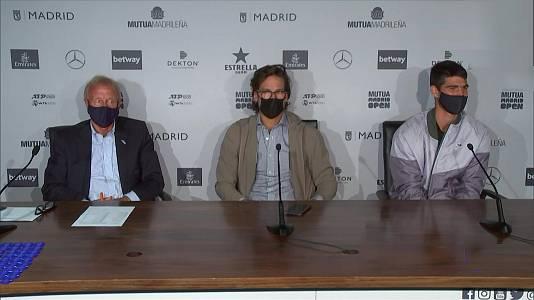 Mutua Madrid Open - Resumen diario 30/04/21