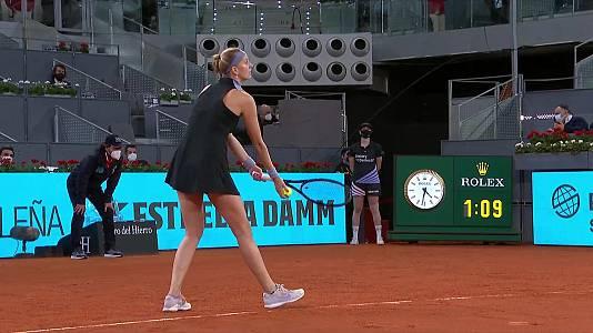 WTA Mutua Madrid Open: Petra Kvitova - Angelique Kerber