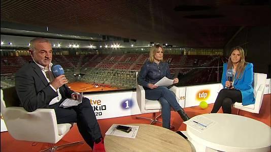 Tenis Mutua Madrid Open - Resumen diario 01/05/21