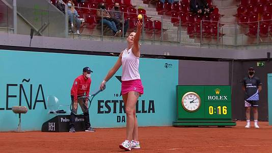 WTA Mutua Madrid Open.: K. Pliskova - A. Pavlyuc