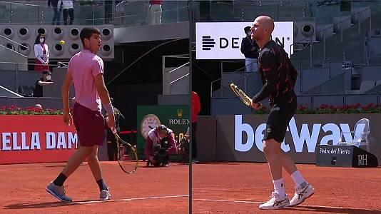ATP Mutua Madrid Open: Adrian Mannarino - Carlos Alcaraz