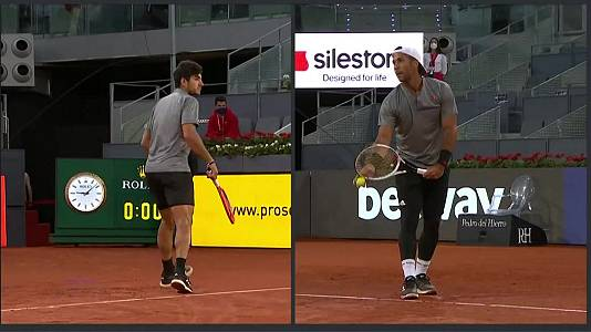 ATP Mutua Madrid Open: Garín - Verdasco