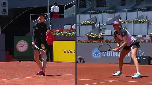 WTA Mutua Madrid Open: Elise Mertens - Simona Halep
