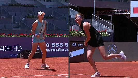 WTA Mutua Madrid Open: Ashleigh Barty - Petra Kvitova