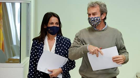 Comparecencia de Fernando Simón y Silvia Calzón - 06/05/21