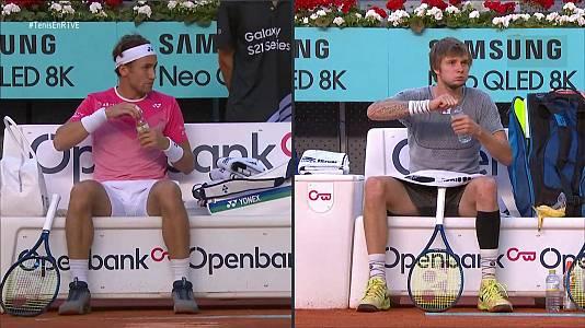 ATP Mutua Madrid Open. 1/4 Final: Aleksandr Bublik - Casper