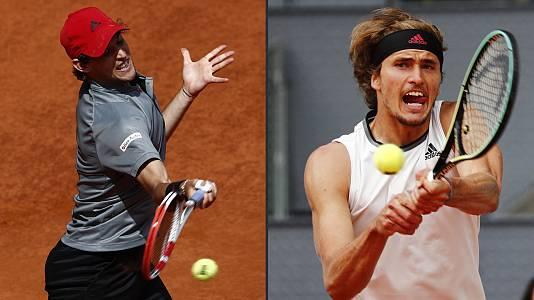 ATP Mutua Madrid Open. 1ª Semifinal: A. Zverev - D. Thiem