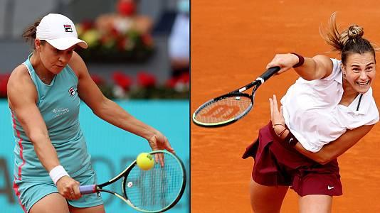 WTA Mutua Madrid Open. Final: A. Barty - A. Sabalenka