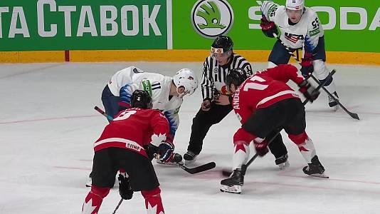 Campeonato del Mundo: Canadá - EE.UU.