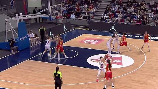 Eurobasket femenino 2021: Francia - España