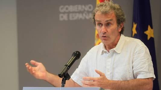 Coronavirus. Comparecencia de Fernando Simón - 24/05/21
