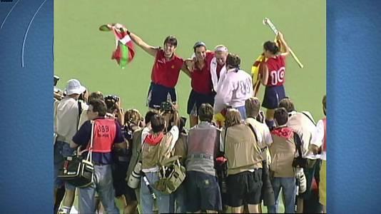 Medalla de Oro del hockey hierba femenino en Barcelona 92