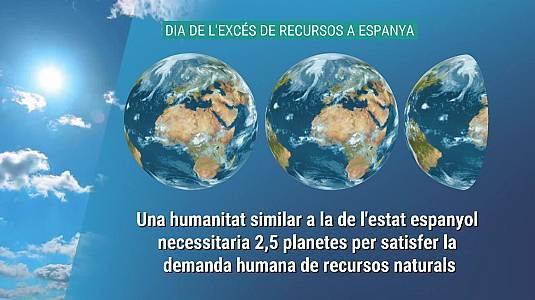 Espanya esgota avui tots els recursos naturals d'un any