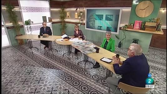 Joan Puigcercós, presa de possessió i 1x1 del Govern