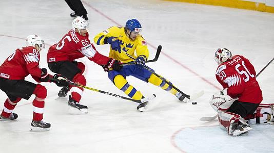 Campeonato del Mundo: Suiza - Suecia