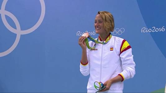 Mireia Belmonte, campeona olímpica en natación