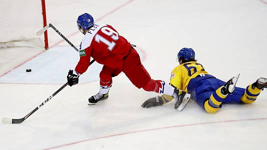 Campeonato del Mundo: Suecia - República Checa
