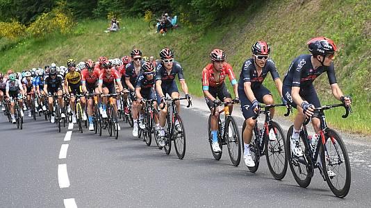 Criterium du Dauphiné. 2ª etapa: Brioude - Saugues