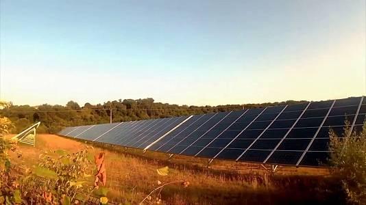 Atardecer renovable