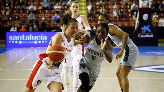Gira preparación Eurobasket femenino 2021: España - Nigeria